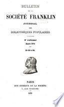 Bulletin de la Société Franklin
