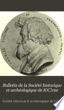 Bulletin de la Société historique et archéologique de lO̕rne