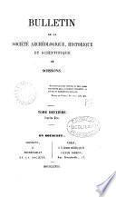 Bulletin de la Société historique et archéologique de Soissons