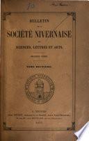 Bulletin de la Société nivernaise des lettres, sciences et arts