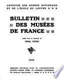 Bulletin des musées de France