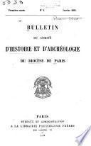 Bulletin du Comité d'histoire et d'archéologie du diocèse de Paris