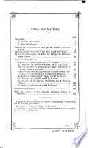 Bulletin et mémoires