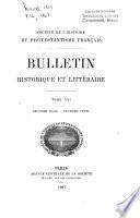 Bulletin historique et littéraire
