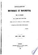 Bulletin historique et monumental de l'Anjou