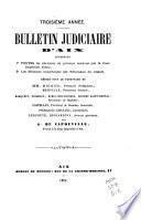 Bulletin judiciaire d'Aix