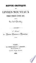 Bulletin littéraire et scientifique