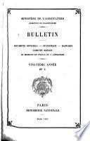 Bulletin mensuel de l'Office de renseignements agricoles