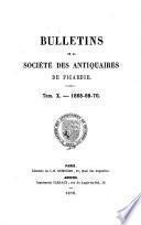 Bulletin trimestriel de la Société des antiquaires de Picardie