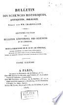Bulletin universel des sciences et de l'industrie. 7