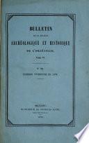 Bulletins de la Société Archéologique et Historique de l'Orléanais