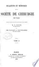 Bulletins et mémoires de la Société de chirurgie de Paris
