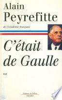 C'était de Gaulle -