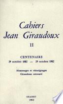 Cahiers numéro 11