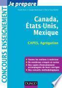 Canada, Etats-Unis, Mexique - Capes-Agrégation