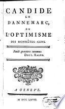 Candide en Dannemarc, ou l'Optimisme des honnêtes-gens