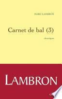 Carnet de bal (3)