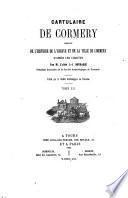 Cartulaire de Cormery