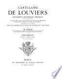 Cartulaire de Louviers: documents historiques originaux du Xe au XVIIIe siècle: Documents