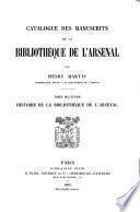 Catalogue général des manuscrits des bibliothèques publiques de France