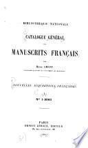 Catalogue général des manuscrits françaises