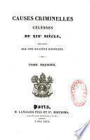 Causes criminelles célèbres du XIXe siècle