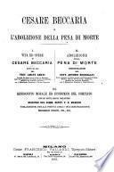 Cesare Beccaria e l'abolizione della pena di morte
