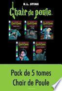 Chair de poule, Pack 2 : 5 tomes