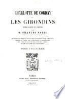 Charlotte de Corday et les Girondins