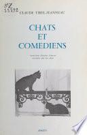 Chats et Comédiens : 33 histoires d'amour racontées par des chats