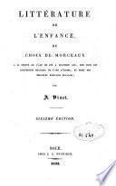 Chrestomathie française ou choix de morceaux tirés des meilleurs écrivains français