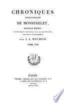 Chronique d'Enguerrand de Monstrelet