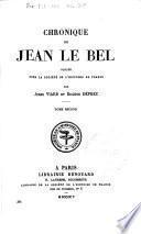 Chronique de Jean le Bel