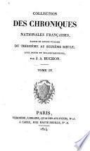 Chroniques de Froissart