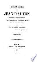 Chroniques de Jean d'Auton