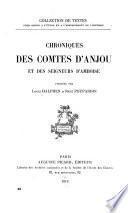 Chroniques des comtes d'Anjou et des seigneurs d'Amboise