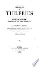 Chroniques des Tuileries et du Luxembourg, physiologie des cours modernes