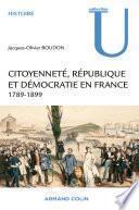Citoyenneté, République et Démocratie en France