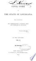 Civil Code of the State of Louisiana