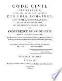Code civil des Français, avec des notes, par H.-J.-C. Dard
