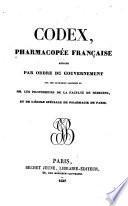 Codex, pharmacopée française