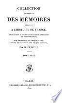 Collection complete des mémoires relatifs à l'histoire de France depuis le règne de Philippe Auguste