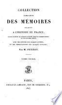 Collection complète des Mémoires relatifs à l'histoire de France