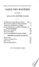 Collection complète des mémoires relatifs a l'histoire de France