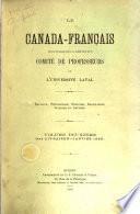 Collection de documents inédits sur le Canada et l'Amérique