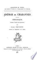 Collection de textes pour servir à l'étude et à l'enseignement de l'histoire