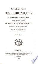 Collection des chroniques nationales françaises: Histoire de l'empire de Constantinople