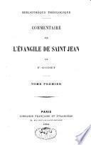 Commentaire sur l'évangile de saint Jean