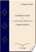 Commentaire sur la Seconde Épître aux Corinthiens