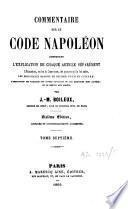Commentaire sur le code Napoléon